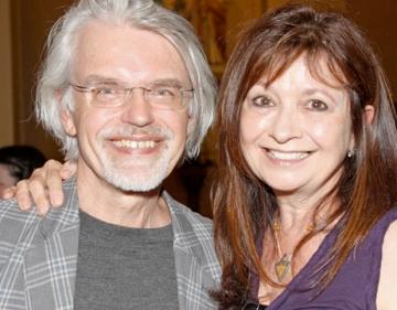 Рик Робертс (Rick Roberts) и Мария Томас (Maria Thomas) - основатели стиля Зентангл