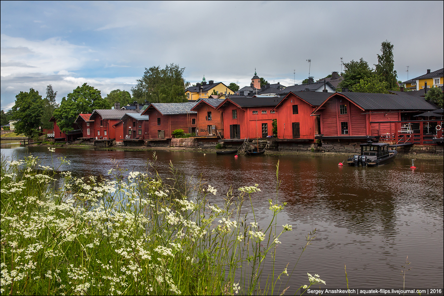 Лето в Порвоо / Porvoo, Finland