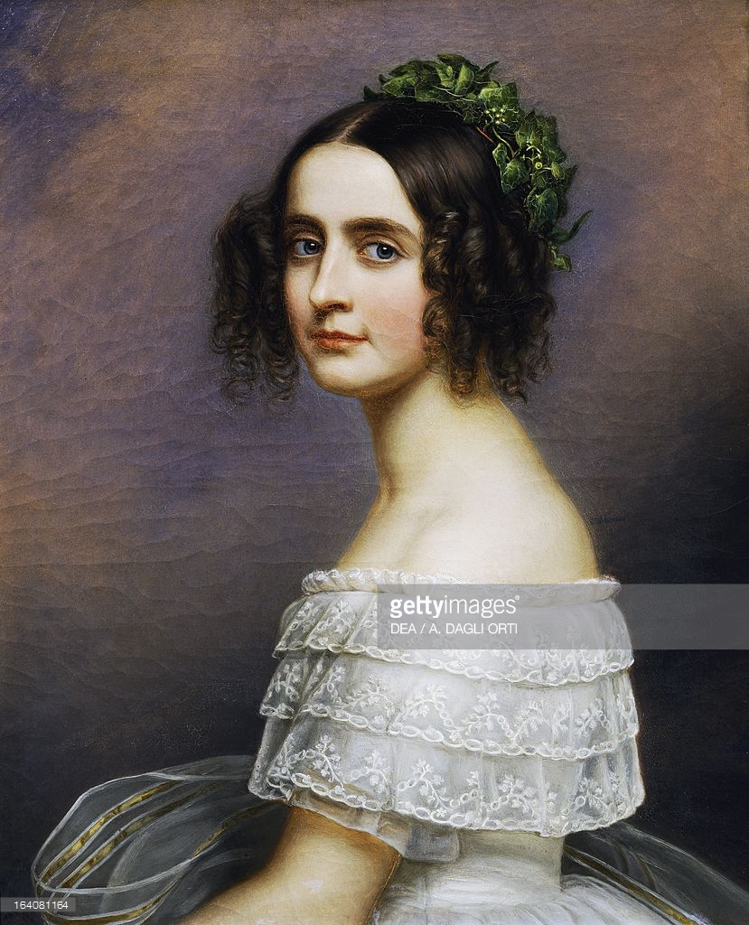 Portrait of Alexandra Amalie of Bavaria daughter of Ludwig I of Bavaria.jpg