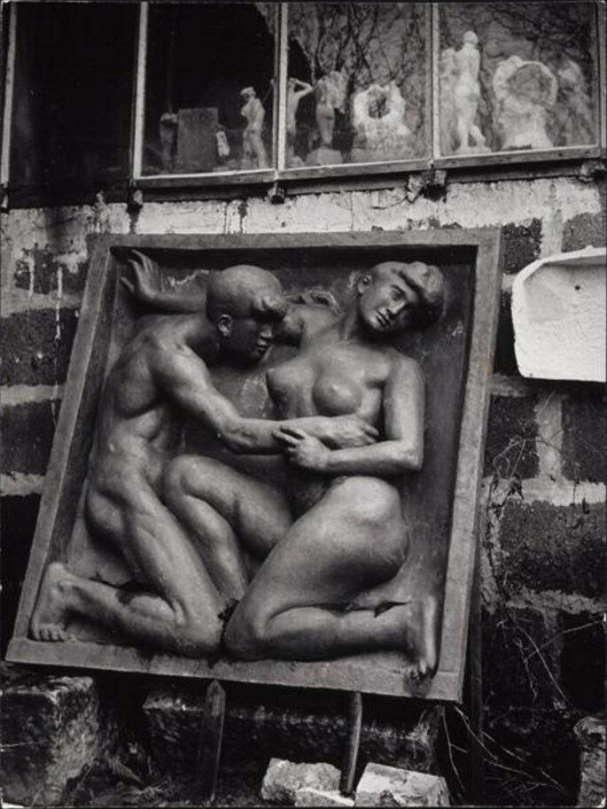 1936. «Желание». Мастерская Аристида Майоля в Марли-ле-Руа