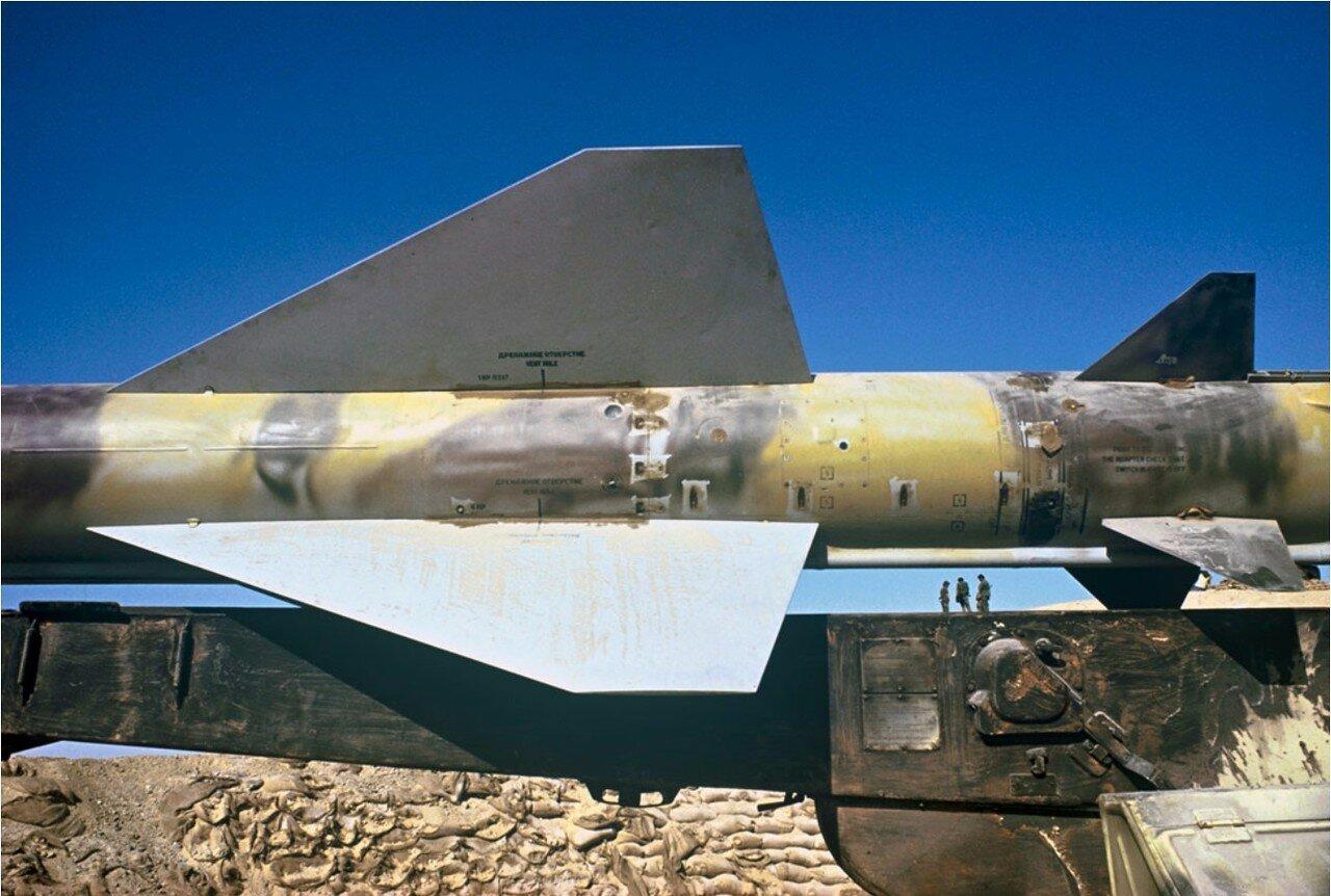 Захваченная ракета