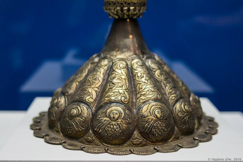 Потир. Западная Армения. Ван (Васпуракан). 1756 г.