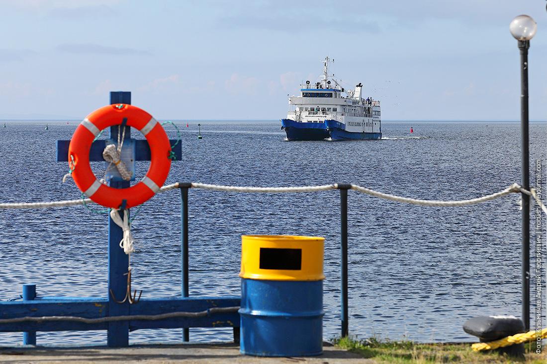 Белое море Соловки пассажирский катамаран Сапфир