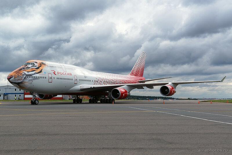 Boeing 747-446 (EI-XLD) Россия D807520a