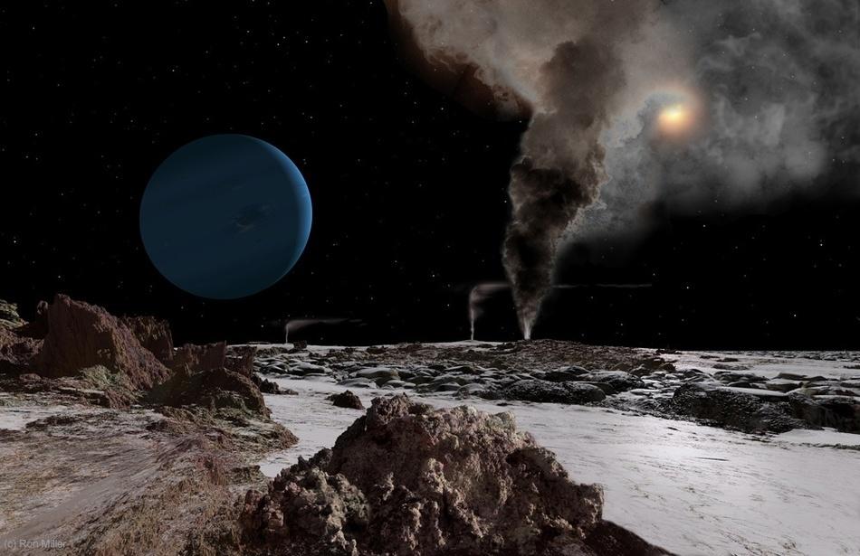 Невероятные рассветы на других планетах