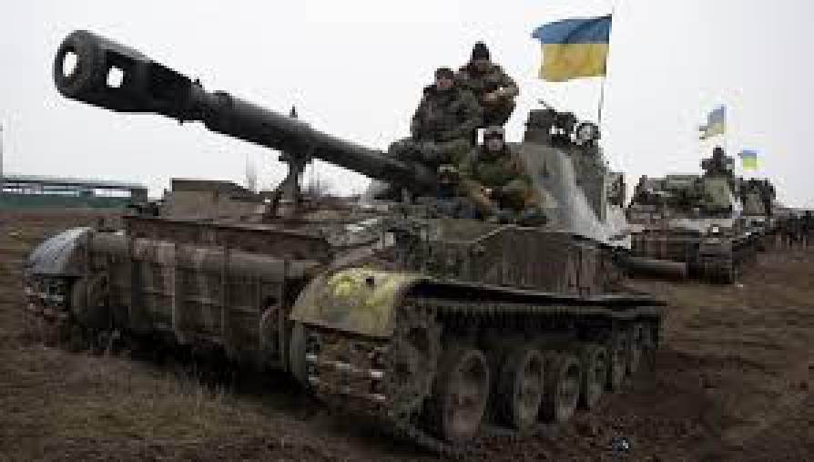 Украинские военные на Донбассе захватили пулемет, из которого стрелял российский актер Пореченков, - спикер АТО Мотузяник