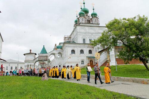 Девятая Пятница по Пасхе, г. Соликамск, 2016 г.