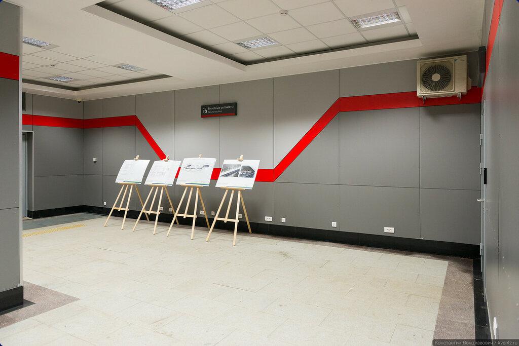 Напротив касс разместятся билетные автоматы