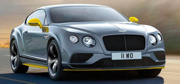 Bentley представит гибридную версию Continental GT