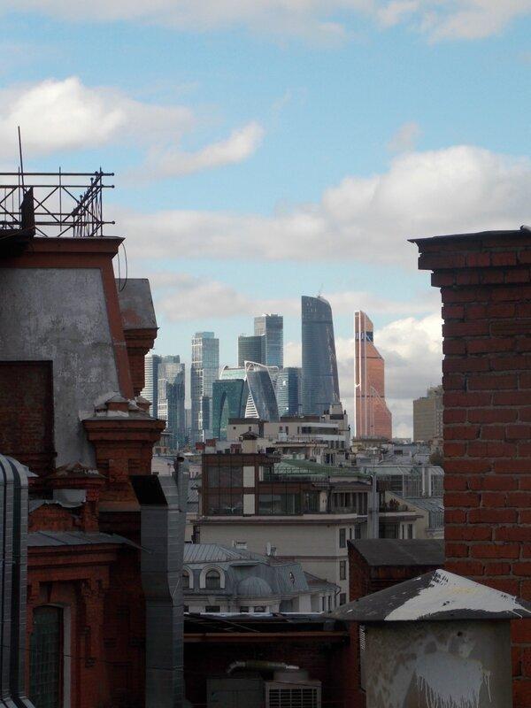 Сити с крыши Красного Октября