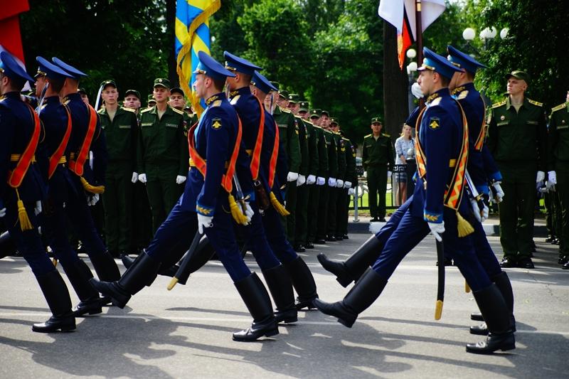 В Твери состоялся торжественный выпуск офицеров - слушателей Военной академии ВКО им. Г.К. Жукова