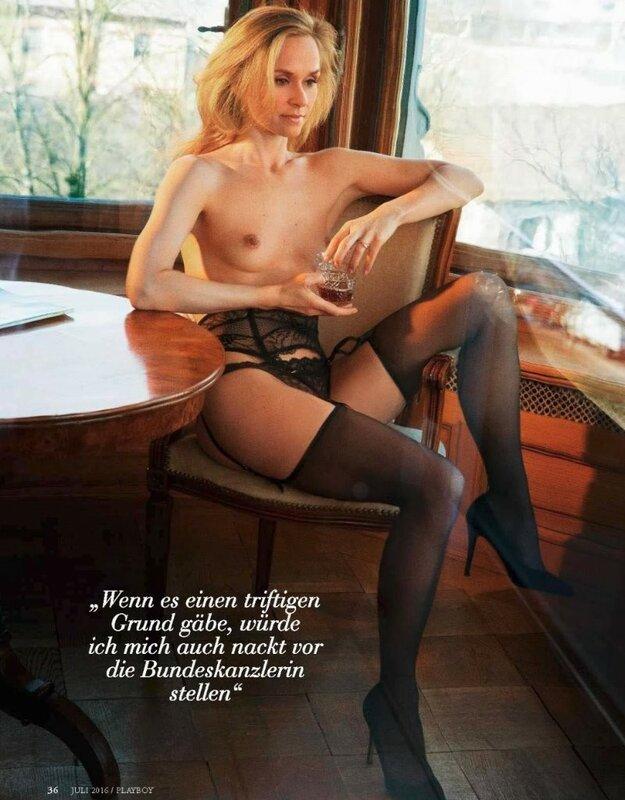 Annett Fleischer in Playboy Germany july 2016