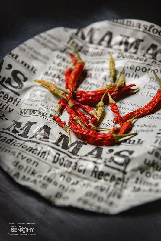 Red food photography / Красная еда