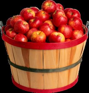 кадушка с яблоками