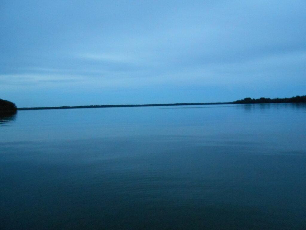 Озеро Вельё. Поздний вечер.