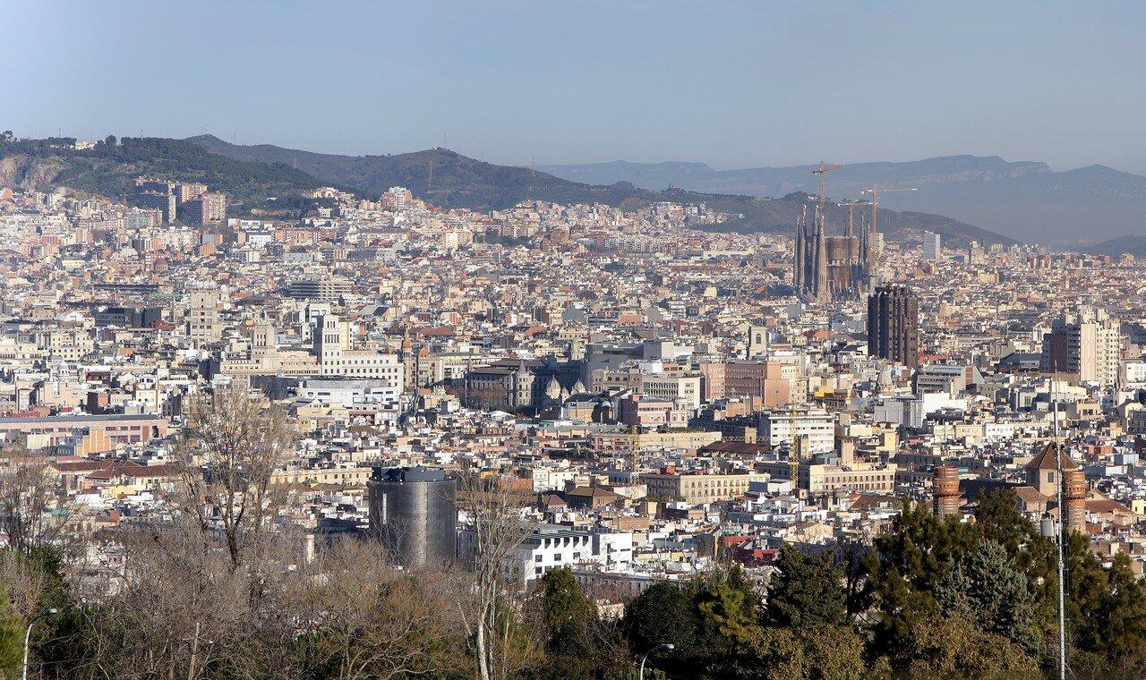 Barcelona, Montjuic