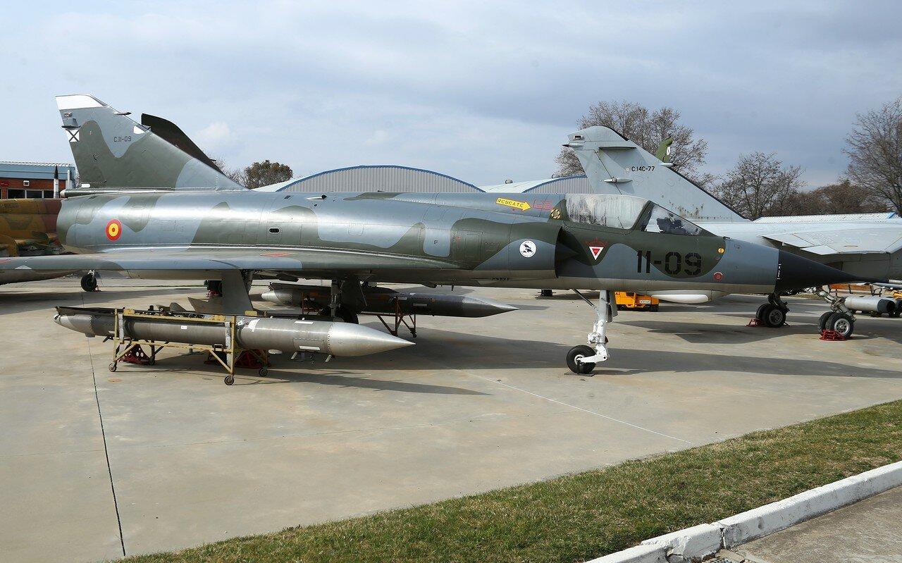 Dassault Mirage IIIE (Museo del Aire, Madrid)
