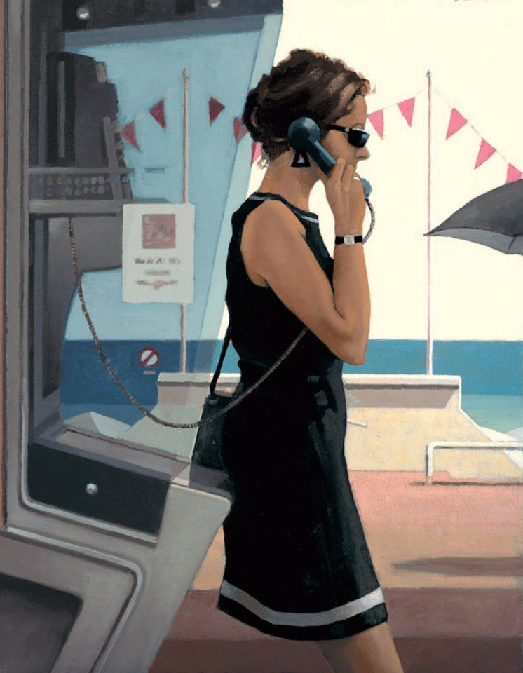 Женщины, любовь и страсть в картинах Джека Веттриано (10 фото)