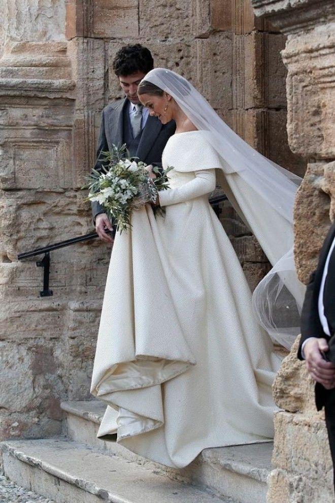 Шарлотта Уэлсли была так хороша, что, кажется, даже затмила свадебное платье принцессы Дианы и даже