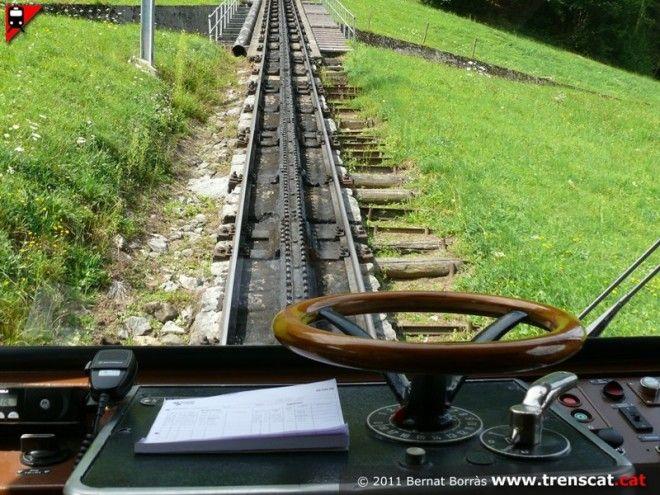 В настоящее время в мире насчитывается более 150 зубчатых железных дорог. Эксплуатируемых постоянно