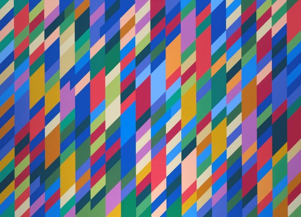 Бриджет Райли, «Игра теней», 1990
