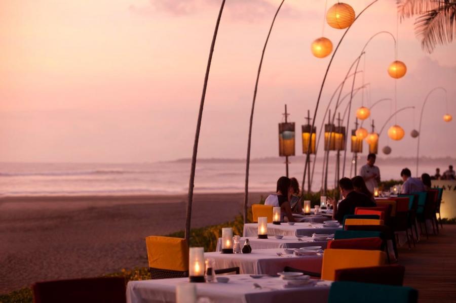 7. The Samaya Villas Bali, Бали, Индонезия Посетив этот ресторан, вы можете попробовать самые изыска