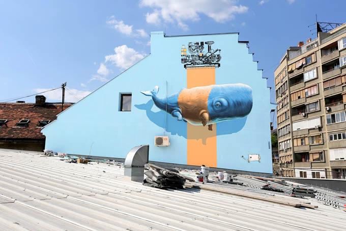 Экологические граффити дуэта Nevercrew