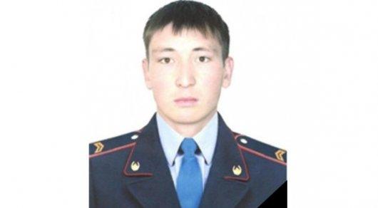 Скончался полицейский, раненый при теракте вАлматы