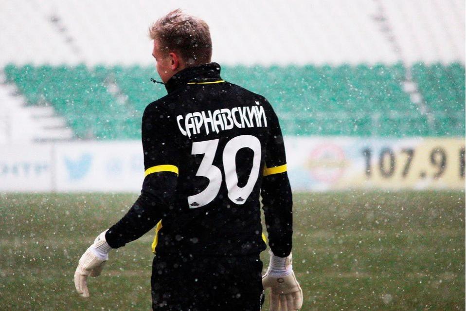Украинский голкипер расторг договор с русским клубом