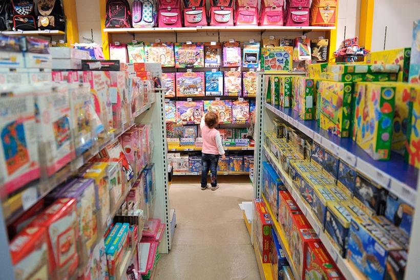 В столицеРФ задержали похитителей детских игрушек