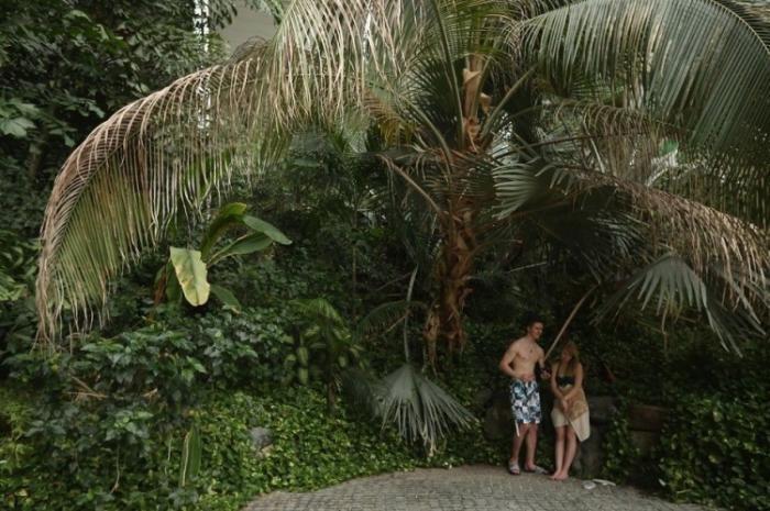 Необычный тропический остров