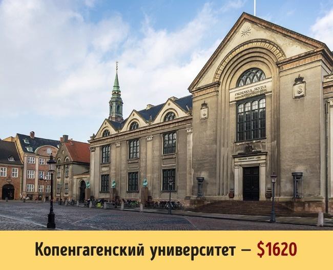 Сколько стоит образование в разных университетах мира