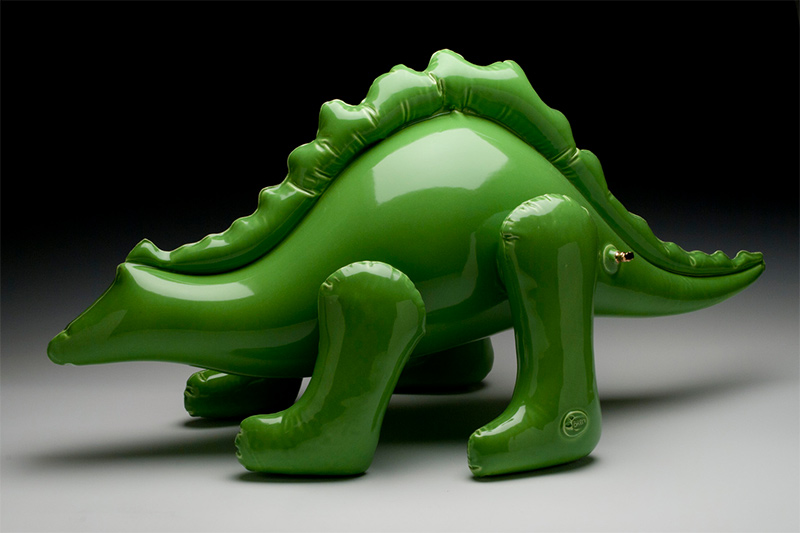 Ceramic Sculptures by Brett Kern Look Like Inflatable Toys (9 pics)
