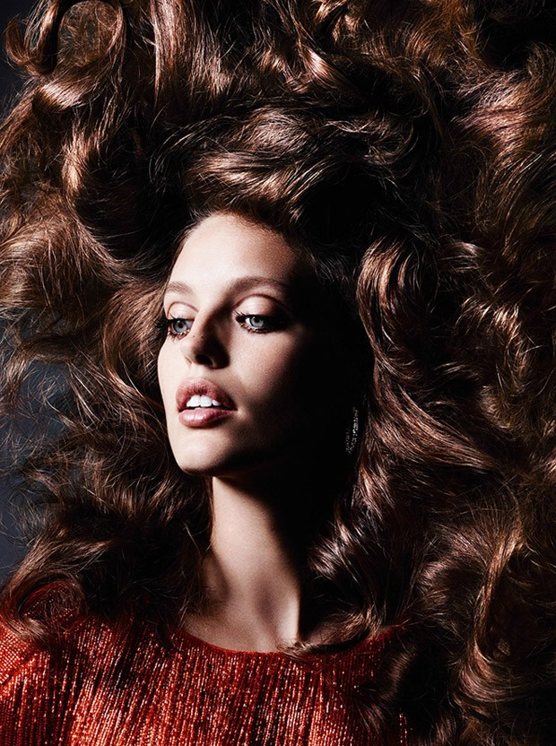 Supermodel Emily DiDonato teams up with fashion photographer Ben Hassett for En Boucle story coming