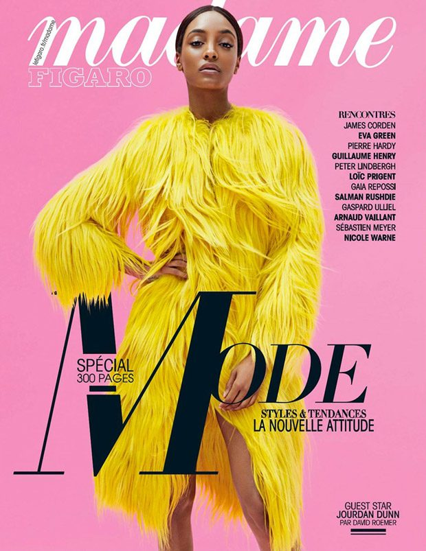 Supermodel Jourdan Dunn teams up with fashion photographer David Roemer at Atelier Management for th