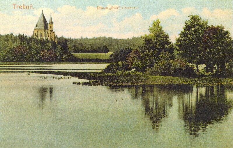 Усыпальница княжеской семьи Шварценбергов в Виттингау (Тршебонь), 1909 г.