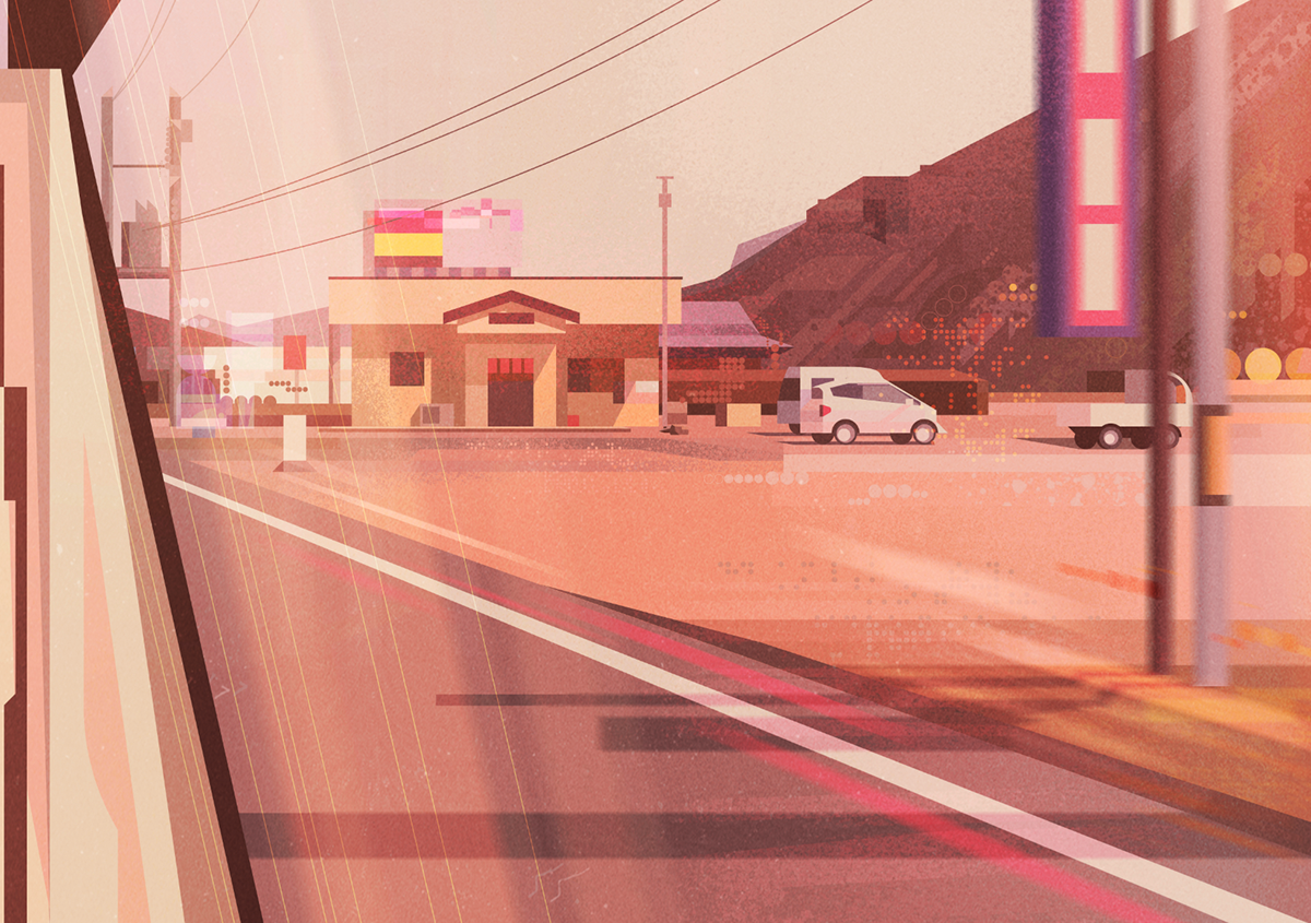 Wonderful Illustrations of Japan by James Gilleard