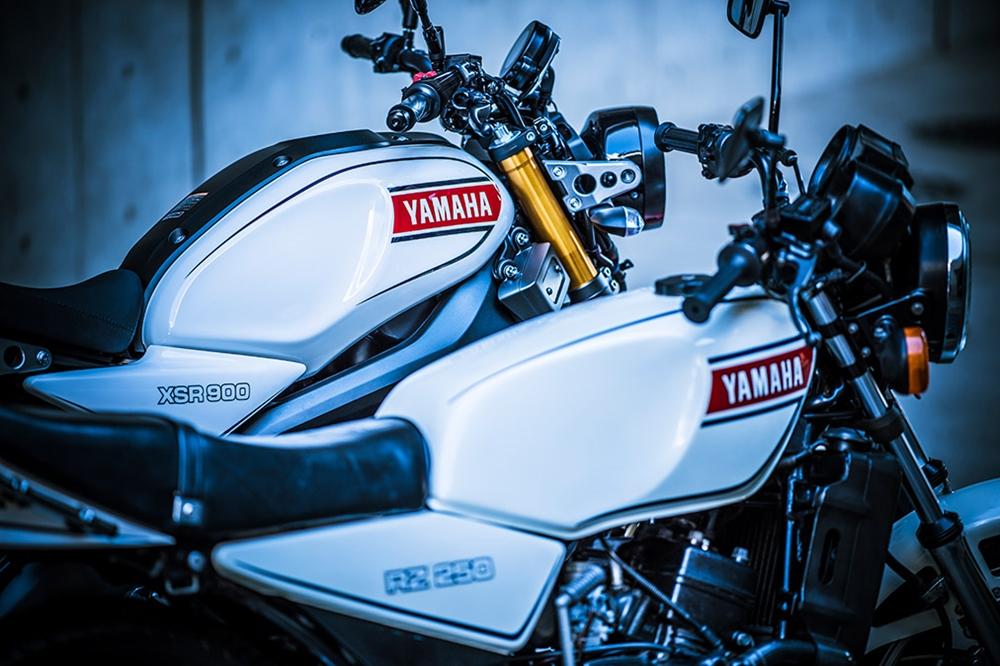 Мотоцикл Yamaha XSR900 Authentic (фото)