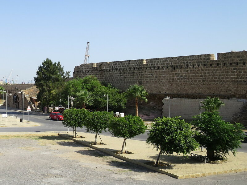 Фамагуста. Город. Стена от Морских ворот до Арсенальной башни 3