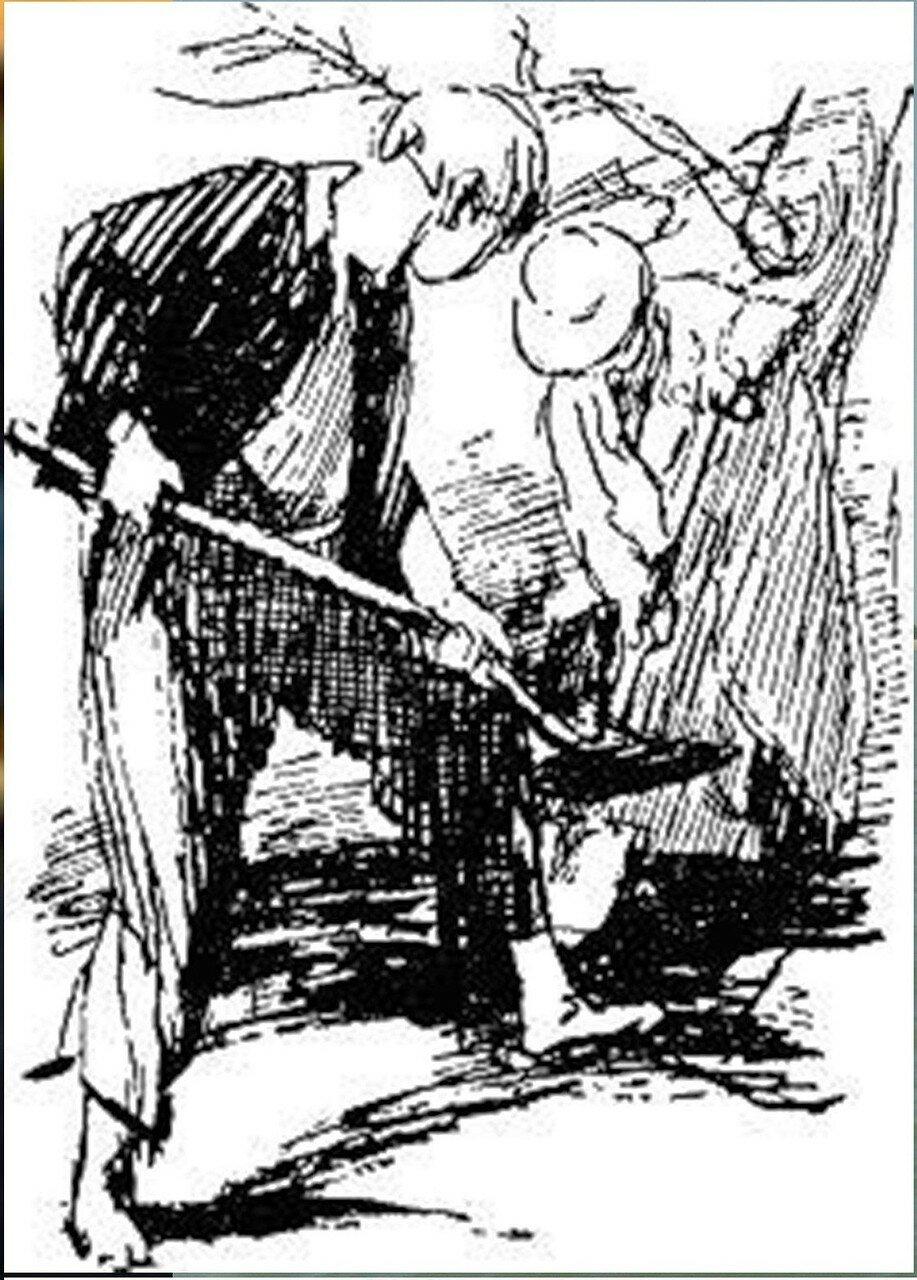 Иллюстрация В. Н. Горяева к пр-ю М.Твена Приключения Тома Сойера (33).jpg
