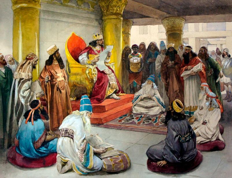 Указ Ирода об избиении младенцев