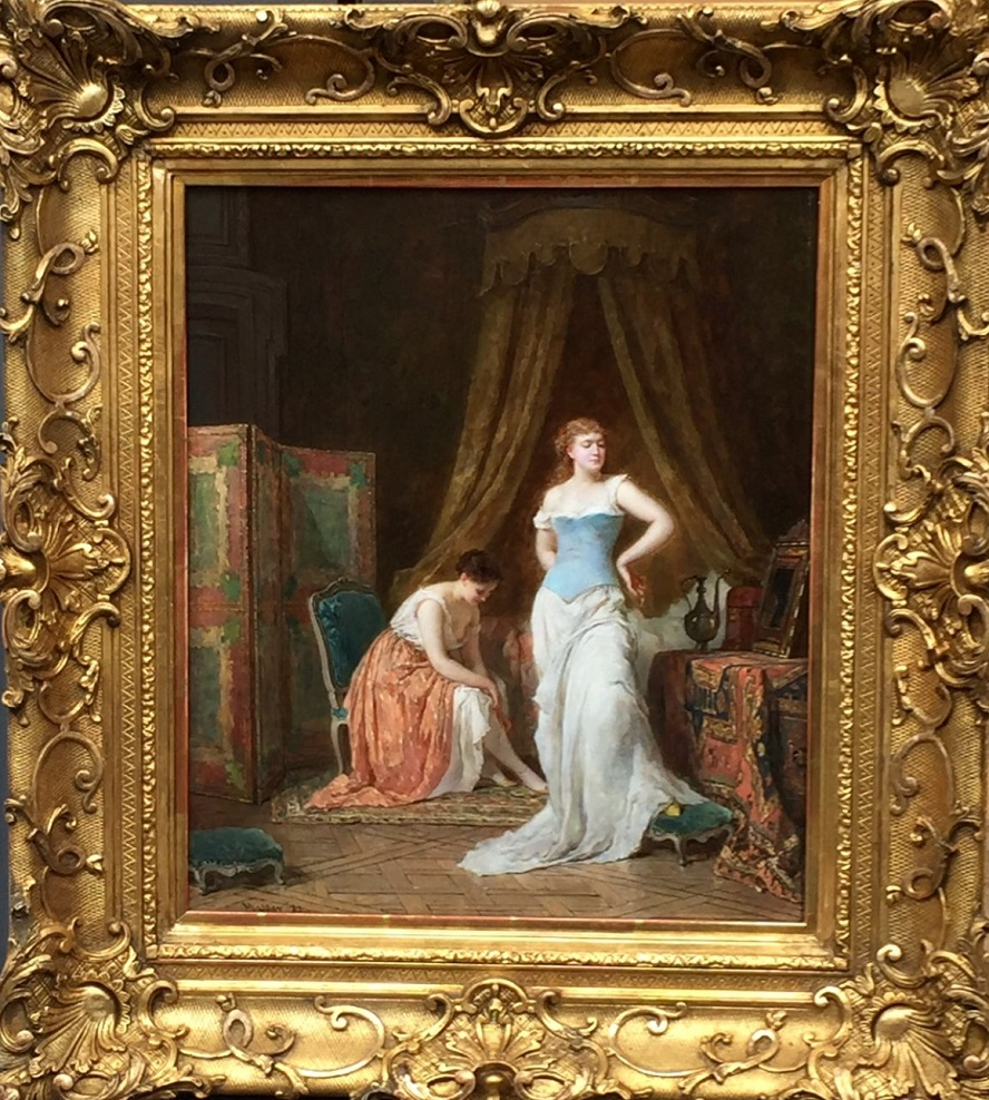 PLASSAN, Antoine, Émile (Bordeaux 1817, Paris 1903) French Women to the Date 1883 toilet.