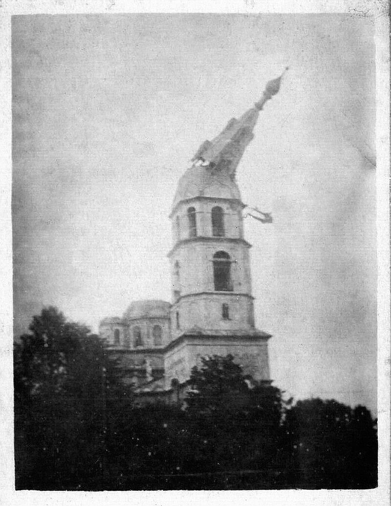 1930. Рыбинск. Уничтожение Спаса Нерукотворного