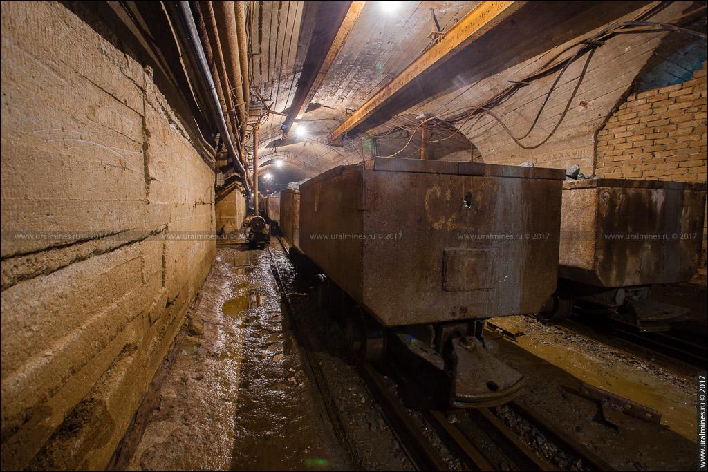 Березовский рудник шахта Центральная -712 м