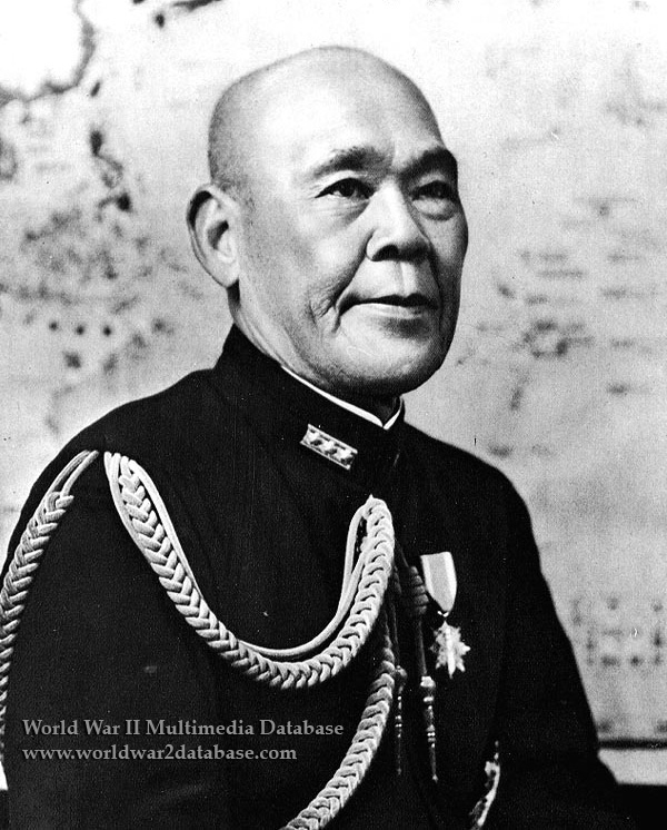 Admiral of the Fleet Osami Nagano