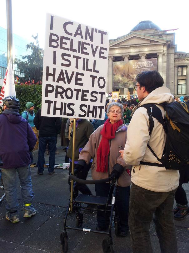 Американский протест - самый дерзкий!