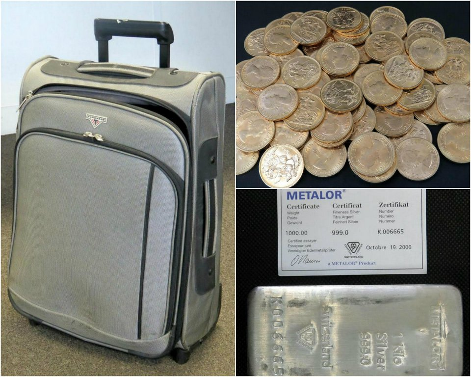 Pensioner discovered a suitcase with silver and gold coins in the inherited house