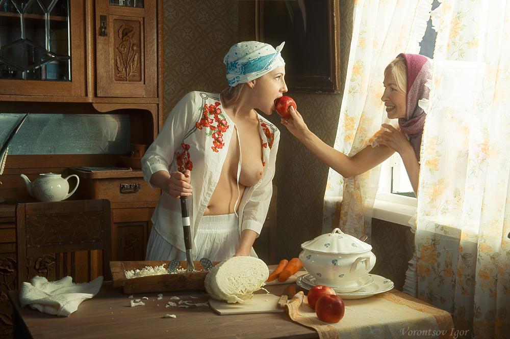Красивое «Ню» Игоря Воронцова