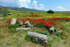 Руины Иераполиса
