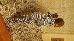 Пижама флисовая на молнии Mothercare (Англия) 5-6 лет - 450 руб.